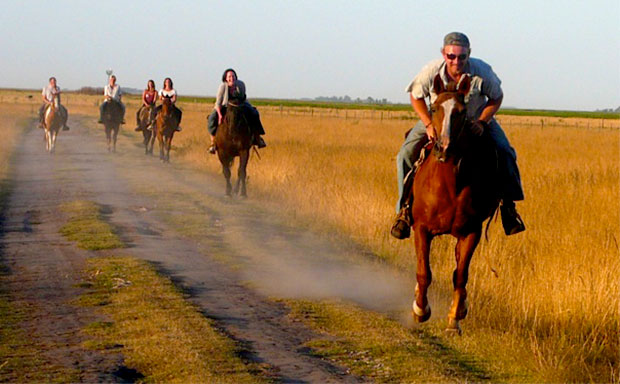 Horse Riding on an Estancia in Argentina
