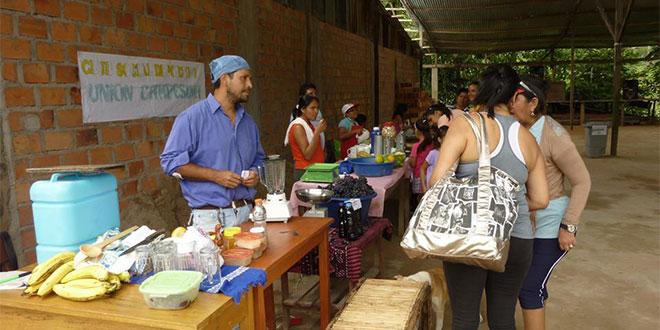 Café Assistant in Peru