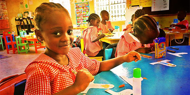 Assist In Our School Liberia