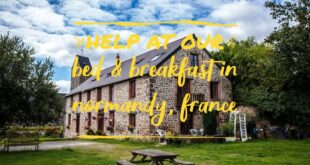 Volunteer in Normandy: Help at a Bed & Breakfast in Normandy (France)