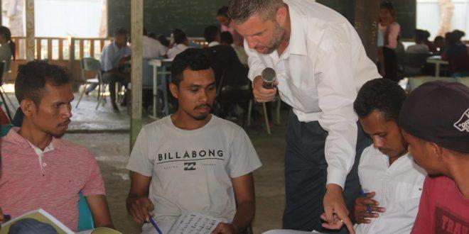 Volunteer in East Timor