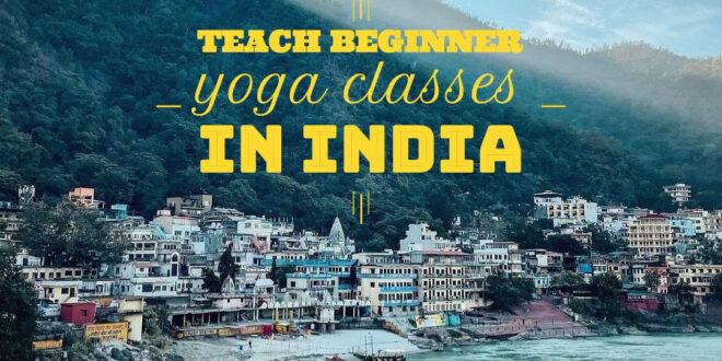 volunteering for yoga teachers in india