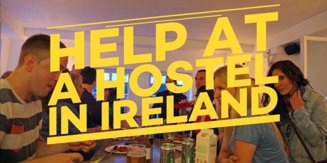 Volunteer in a hostel in Ireland